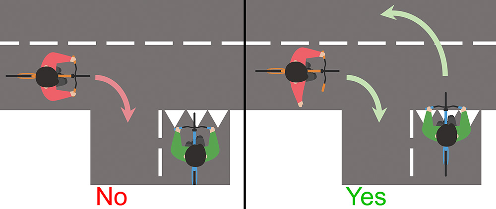 bicycle not signalling 2